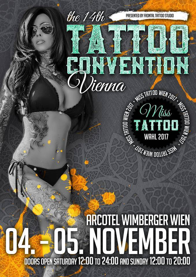 Tattoo convention Vienna 2017.